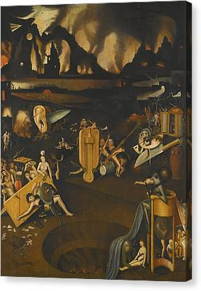 The Furnace Of Hell Canvas Print