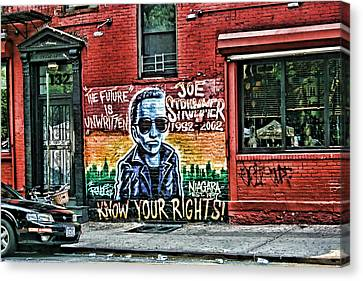 The Future Is Unwritten Canvas Print by Terry Cork