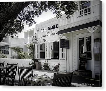 Local Food Canvas Print - The Gable In Russell by Julie Palencia