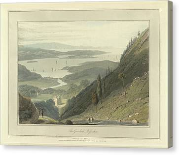 The Gair-loch Canvas Print by British Library