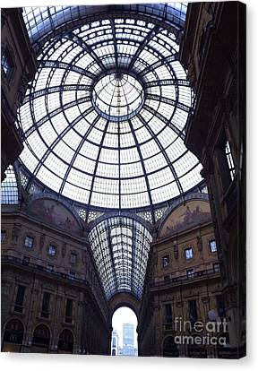 The Galleria Milan Italy Canvas Print