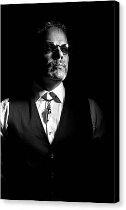 The Gambler Canvas Print by Monte Arnold