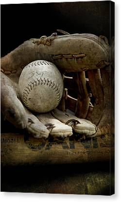 The Game Again Canvas Print by Evie Carrier