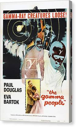 The Gamma People, Us Poster, Bottom Canvas Print by Everett