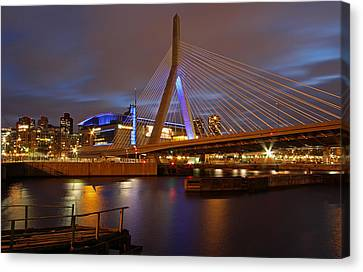 Charles River Canvas Print - The Garden by Juergen Roth