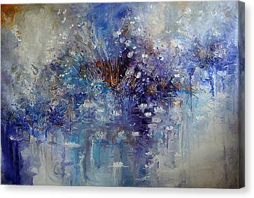 The Garden Monet Didn't See Canvas Print by Hermes Delicio
