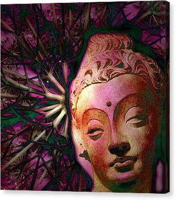 The Garden Of Buddha Canvas Print by Martine Jacobs