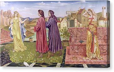 The Garden Of Opportunity Canvas Print by Evelyn De Morgan