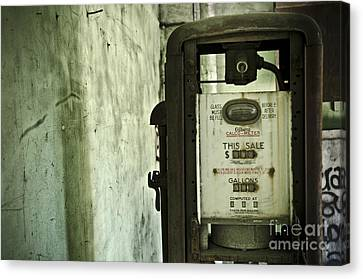 The Gas Pump  Canvas Print by Jessica Berlin