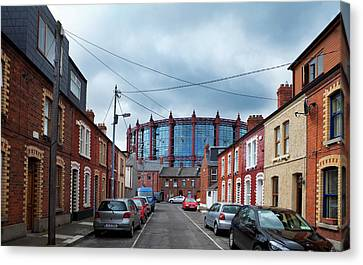 The Gasometer, Now Converted Canvas Print by Panoramic Images