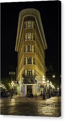 The Gastown Hotel Canvas Print