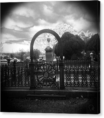 Holga Camera Canvas Print - The Gate by Paul Anderson