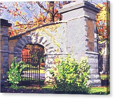 The Gate Canvas Print