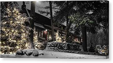 The Gateway Lodge Canvas Print by Anthony Thomas