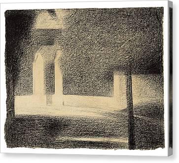 Seurat Canvas Print - The Gateway by Seurat