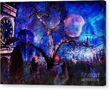 The Gathering  Canvas Print by Alana Ranney