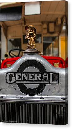Canvas Print featuring the photograph The General by Ross Henton