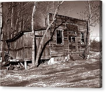 Canvas Print featuring the photograph The General Store by Craig T Burgwardt