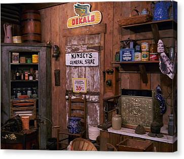 The General Store Canvas Print by Warren Thompson