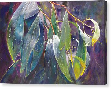 The Gentle Rain Canvas Print by Lynda Robinson
