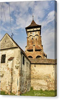 The German Fortified Church Of Valea Canvas Print by Martin Zwick