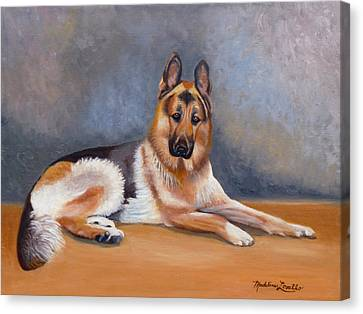 The German Sheppard Canvas Print