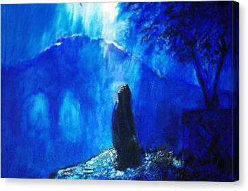 The Gethsemane Prayer Canvas Print