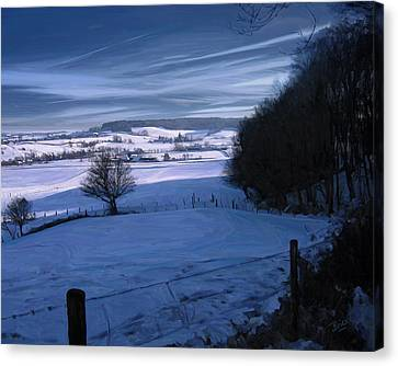 The Geul Valley Near Epen Canvas Print by Nop Briex