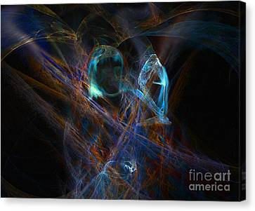 The Ghost Of Ancient Times Canvas Print by Lance Sheridan-Peel