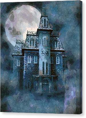 Eerie Canvas Print - The Ghost Of Little Mary by Tyler Robbins