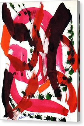 The Ghost Tsunami 05 Canvas Print