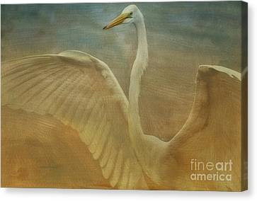 The Giant E Canvas Print by Deborah Benoit