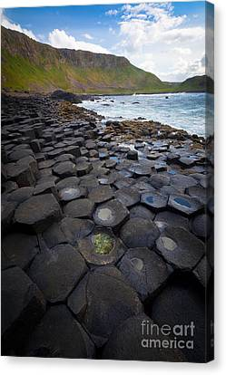 The Giant's Causeway - Staircase Canvas Print