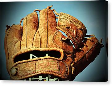 The Giants Glove Canvas Print by Holly Blunkall