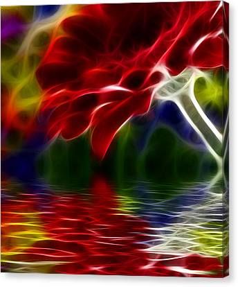 Canvas Print featuring the digital art The Gift by Karen Showell