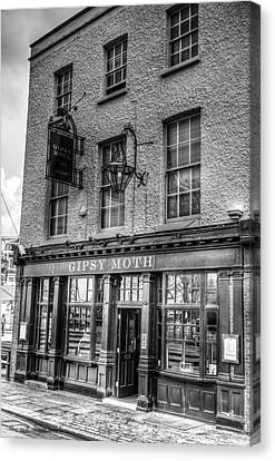 The Gipsy Moth Pub Greenwich Canvas Print
