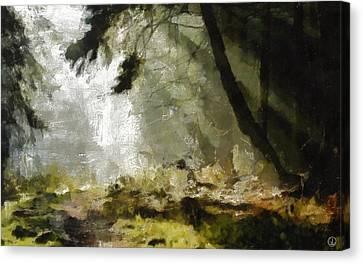 The Glade Canvas Print by Gun Legler