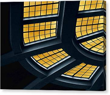 The Glass Ceiling Canvas Print by Wendy J St Christopher