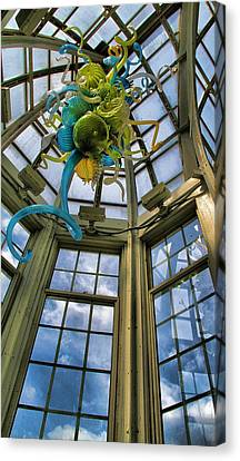 The Glass Room Canvas Print