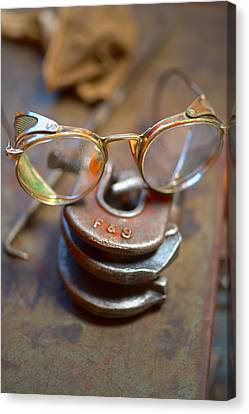 The Glasses 1 Canvas Print by Kevin Eatinger