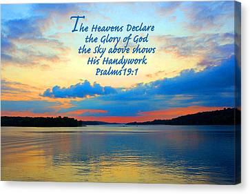 The Glory Of God Canvas Print
