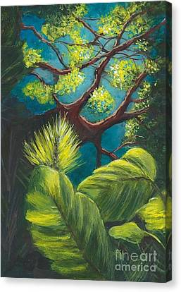 The Goblin Market Restaurant Tree Mt. Dora Canvas Print