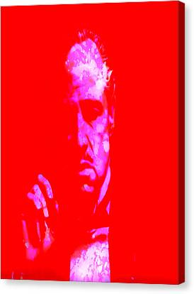 John Keaton Canvas Print - The Godfather 3j by Brian Reaves
