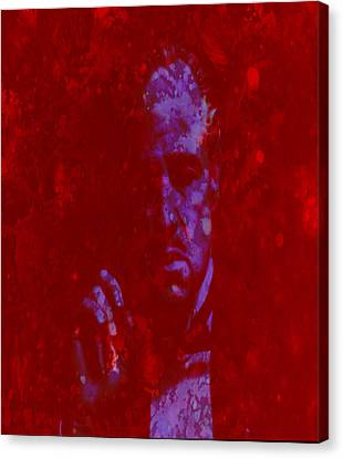 John Keaton Canvas Print - The Godfather  by Brian Reaves