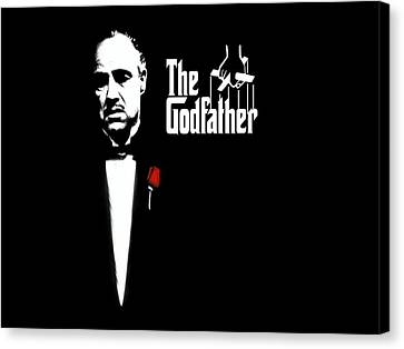 The Godfather Canvas Print by Cool Canvas