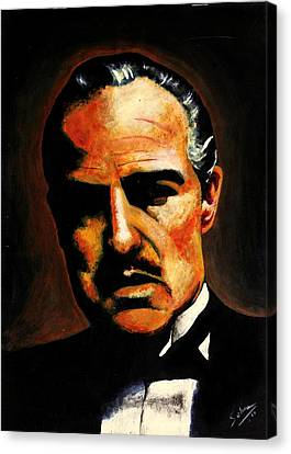 Godfather Canvas Print