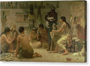 The Gods And Their Makers, 1878 Canvas Print
