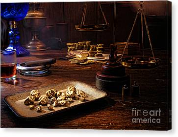 Prospector Canvas Print - The Gold Trader Shop by Olivier Le Queinec