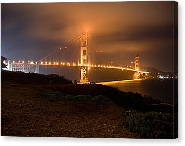 Canvas Print featuring the photograph The Golden Gate by Brent Durken