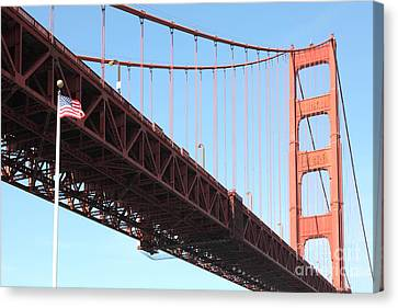 The Golden Gate Bridge At Fort Point 5d21589 Canvas Print